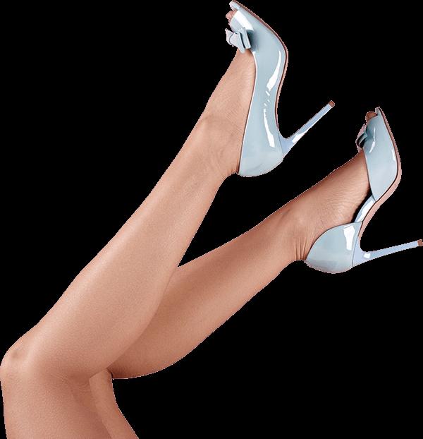 woman legs no veins